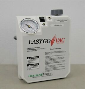 Precision Medical Pm65 Easy Go Vac Aspirator Portable Suction Machine 21341