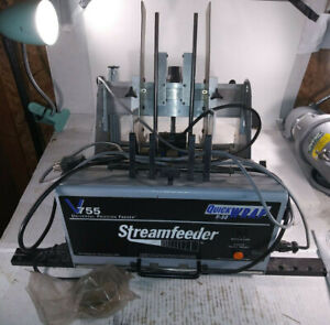 1 Used Streamfeeder V755 Friction Feeder working make Offer