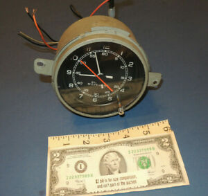 Working 1977 To 1981 Buick Electra Lesabre Round Dash Clock Borg Instruments