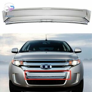 Front Lower Chrome Grille Moulding Bt4z8200e For 2011 2014 Ford Edge Fo1087132