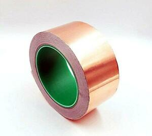Hobbyunlimited Copper Foil Tape With Conductive Adhesive 2inch X 27yards