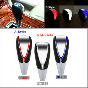 Universal Car Suv Gear Shift Knob Led Touch Activated Sensorusb Charge Cable Kit