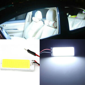 2x T10 36 Cob Led 12v Bright White Dome Map Light Bulbs Car Interior Panel Lamp