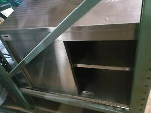 Used Wall Mount Stainless Steel Cabinet