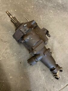 Gm Chevy 3 Speed Overdrive Transmission Tail Section Muncie 319 1955 1957