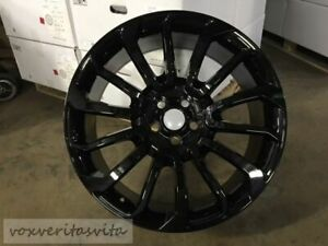 24 Gloss Black Autobiography Wheels Rims Fits Range Rover Sport Hse Full Body