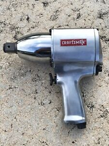 Craftsman 1 1 Inch Drive Air Impact Wrench 875 185060 Made In Japan New Not Use