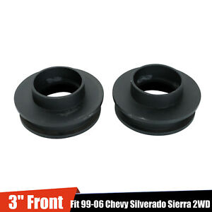 3 Front Leveling Lift Kit For 1999 2006 Chevy Silverado Sierra 2wd 2007 Classic