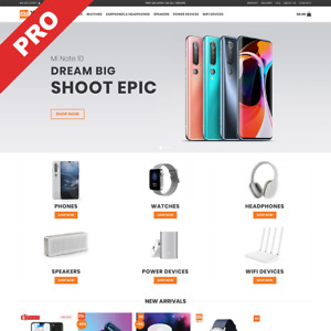 Xiaomi Brand Store Automated Dropshipping Website Internet Business For Sale