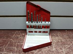 Snap on Exdl10 7pc Left handed Cobalt Extractor Drill Set
