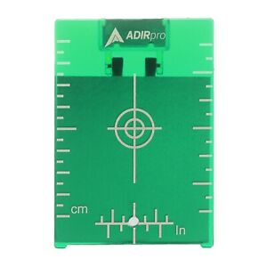 Adirpro Green Construction Survey Magnetic Ceiling Level Target Plate With Stand