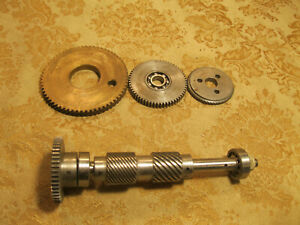 Vintage Machinist Metal Lathe Gears