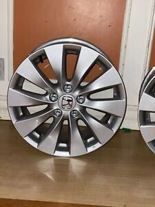 Set Of 4 2013 2017 Honda Accord Rim 17 Inch Oem Wheels Like New