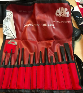 Mac Tool Brand New Punch And Chisel Set 12 Pieces Usa Made