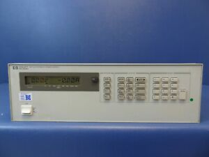Hp agilent 6621a Programmable Dual Output Dc Power Supply 80 W Calibrated