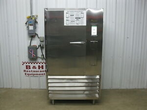 Traulsen Tbc13 Stainless Steel Reach In Blast Chiller Freezer Self Contained