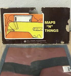 1980 S Sun Visor Auto Rack Map Holder All Purpose Vtg New Classic Car Show Gift