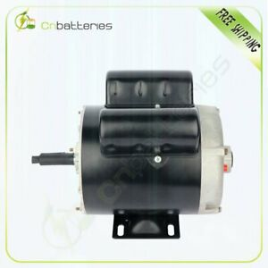 2 Hp Spl Air Compressor Electric Motor 56 Frame 3450 Rpm Single Phase 15 0a 7 5a
