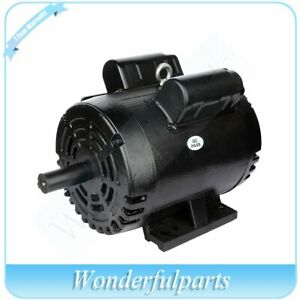 3 Hp Air Compressor Electric Motor 184t Frame 1750 Rpm Single Phase Protector