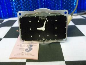1950 Mercury Clock Nos With Tag 6 Volt Ground