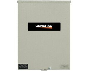 Generac 200 Amps 120 240v Service Rated Automatic Smart Transfer Switch