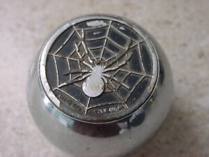Eelco Spider Web Shift Knob Nob 4 Speed Hurst Mr Gasket Harley Davidson Shifter