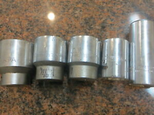 3 4 Drive Sae Usa Sockets Buy 1 Or More Proto Blackhawk Napa Reduced Shipping