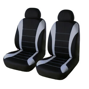 2 Pack Premium Front Car Seat Covers Breathable Interior Protector 4 Season Us