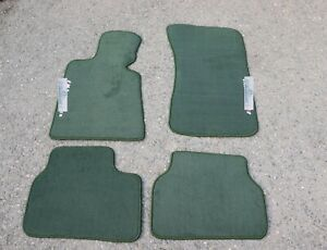 Floor Mats Carpet Green Fit For Compatible With Bmw 3 Series M3 E30 4dr Sedan