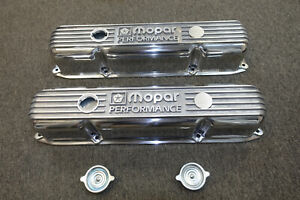 Mopar P5007616 Polished Cast Aluminum Valve Cover