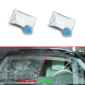 10 X Car Solid Wiper Effervescent Tablet Cleaner Auto Windshield Glass Cleaning