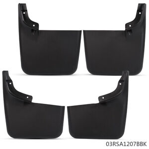 Front Rear Mud Flaps Splash Guards W O Fender Flares For 04 14 Ford F150