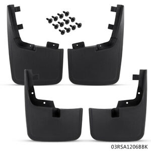 For 2015 2018 Ford F 150 Molded Splash Guards Mud Flaps Without Fender Flares
