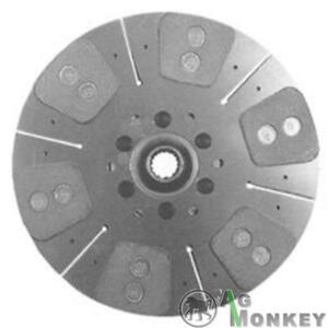 M191607 Hd6 12 Single Stage Clutch 6 large Pad Disc Massey Ferguson 50 Ind 302