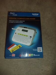 Brother Pt d400 Label Maker New In Box Brand New Sealed