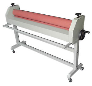 All Metal Construction Manual 51 Stand Cold Laminating Machine Cold Laminator