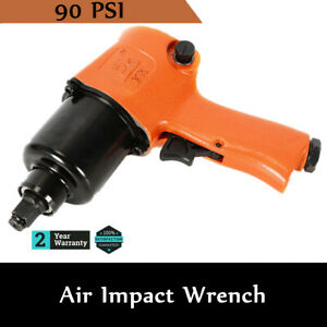 Air Impact Wrench Gun Professional Hose 3 8 Twin Hammer Mechanism Tire Tool New