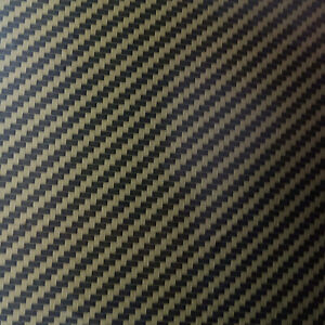 Hydrographic Water Transfer Hydro Dipping Dip Gold Carbon Fiber A Film 19 x78