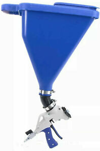 Marshalltown 3 ft Gravity Fed Hopper Gun Drywall Sprayer Gun Ss21 l New