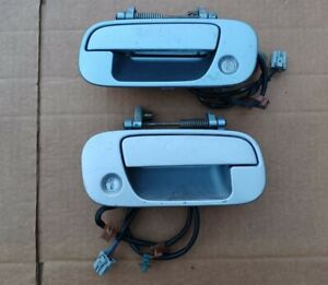 1999 2000 Mazda Miata Mx 5 Interior Door Panel Card Pair Set Beige