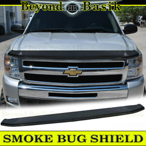 2007 2013 Chevy Silverado 1500 Smoke Bug Shield Deflector Hood Guard Protector