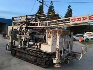 Drill Rig Mobile B57 Track Drill Rig Good Condition Many Extras See Equip List