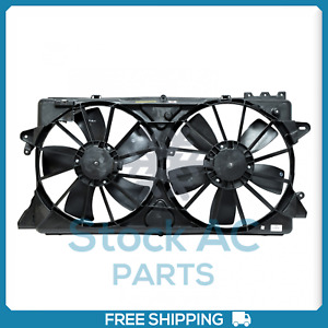 A c Radiator condenser Fan For Ford Expedition F 150 Lincoln Mark Lt N Qu