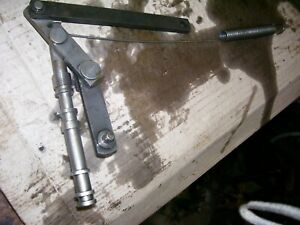Vintage Oliver Super 55 Gas Tractor hyd Control Linkage 1958