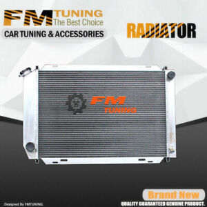 Mustang Radiator For Ford 1978 1993 3row Mt Aluminum 556