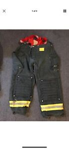 Morning Pride Gear Bunker Pants Turnout Pants Fdny Style Size 44x32