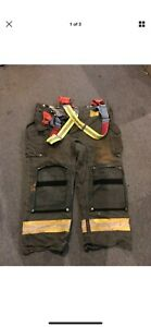 Morning Pride Gear Bunker Pants Turnout Pants Fdny Style Size 44x30