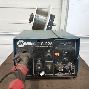 Miller S 22a 24v Constant Speed Wire Feeder