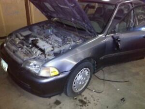 Exhaust Manifold Coupe 1500 Fits 88 95 Civic 1672671