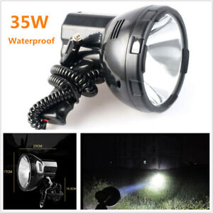 Waterproof 35w Hand held Xenon Hid Search Spot Light Fishing Boat Camp 12v Car